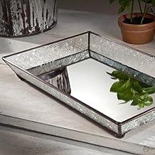 "Vanity Mirror Tray, 9"" X 14"" X 2"""