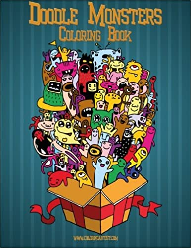 Buy Doodle Monsters Adult Coloring Book Volume 1 Online At Low Prices In India