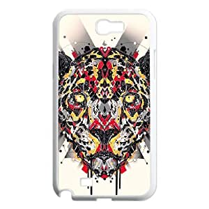 Animal Art Artificial Customized Cover Case with Hard Shell Protection for Samsung Galaxy Note 2 N7100 Case lxa#836682 hjbrhga1544