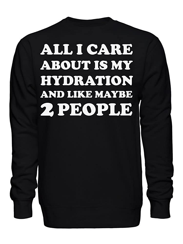 graphke All I Care About is Heavy Metal and Like Maybe 2 People Unisex Crew Neck Sweatshirt