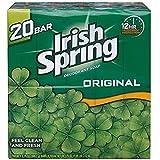 IRISH SPRING Deodorant Soap Original Scent, 20 Count