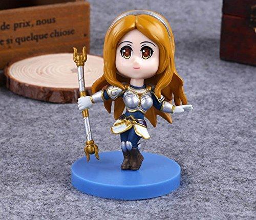 League of Legends LOL Heros Lux Cute Action Figure Model Toys