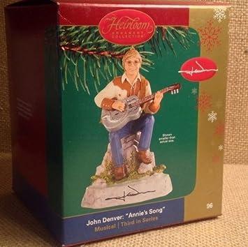 Amazoncom John Denver Carlton Heirloom Ornament Annies Song