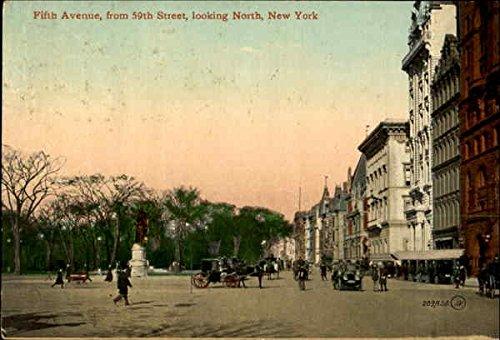Fifth Avenue, 59th Street New York, New York Original Vintage - Fifth Avenue 59