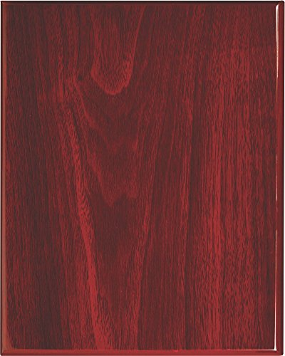 Ridgecrest Herbals Rosewood Piano Finish Wood Plaque 8 by 10-inch