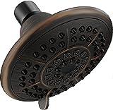 water amplifying shower head - Delta RP78575RB 5-Setting Touch-Clean Showerhead, Venetian Bronze