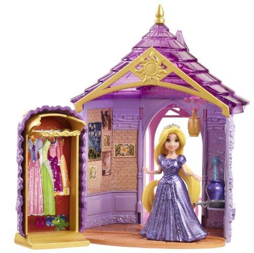 Disney Princess Little Kingdom Magiclip Rapunzel Room Playset by Mattel