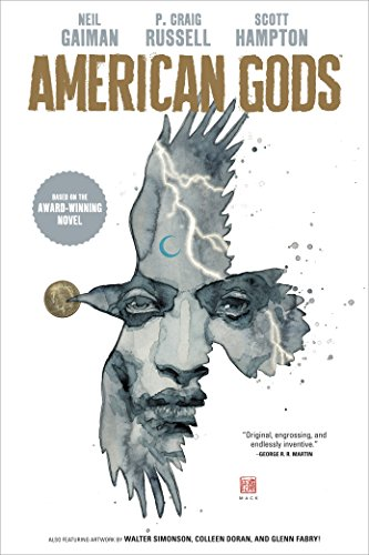 American Gods Volume 1: Shadows (Graphic Novel) cover