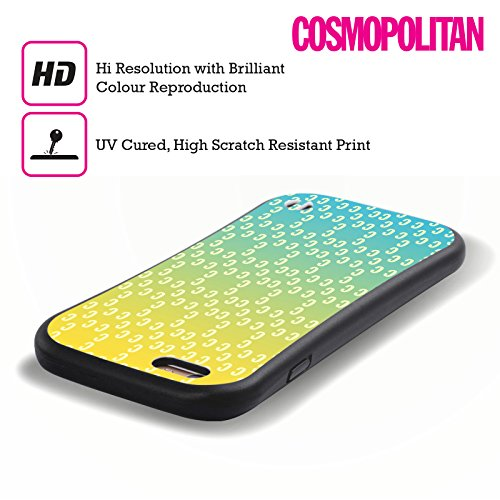 Official Cosmopolitan Ombre Pattern 2 Logo Hybrid Case for Apple iPhone 5 / 5s / SE