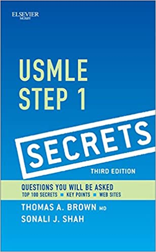 Usmle Step 1 Secrets E Book by Thomas A. Brown