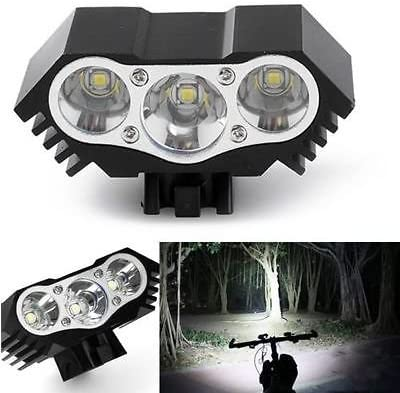 Details about  /CREE T6 LED Super Bright Bike Bicycle Cycling Front Head Light Waterproof Torch