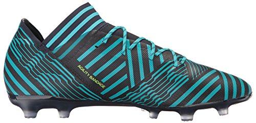 adidas Performance Herren Nemeziz 17.2 FG Fußballschuh Legend Ink / Solar Gelb / Energy Blue