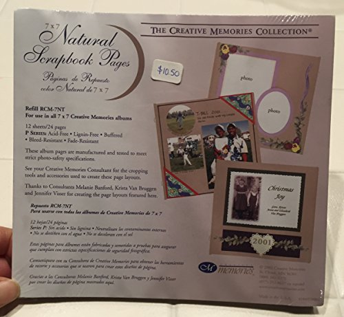 The creative memories 7 x 7 scrapbook pages (Creative 7 X Memories Album 7)