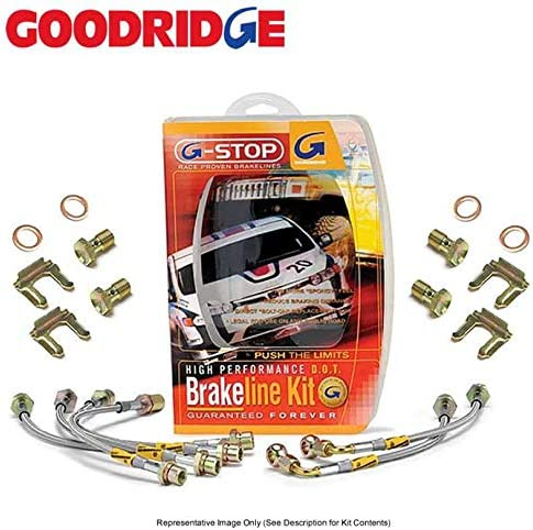 16-17 M2 // 14-17 M3 // 15-17 BMW M4 SS Goodridge 31063 Brake Line Kit