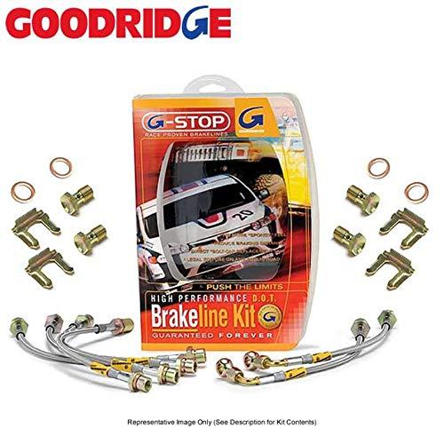 6 Line Goodridge 20108 Brake Kit Acura 07-13 Mdx // 10-13 Zdx // 09-15 Honda Pilot SS-