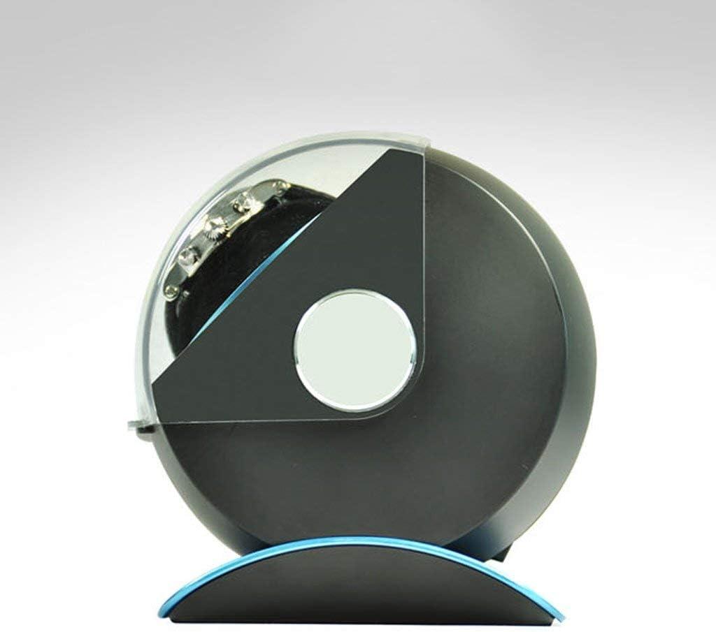YOIL Scatola di stoccaggio per orologi, carica automatica, scatola per orologi, scatola per orologi, semplice e leggera Blu Blu