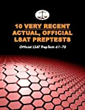 10 Very Recent Actual, Official LSAT PrepTests: Official LSAT PrepTests 61-70 (Cambridge LSAT) (10 Actual, Official LSAT PrepTests) (Volume 4) by Tatro, Morley (November 1, 2013) Paperback