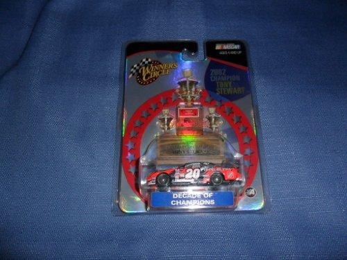 2003 NASCAR Winner's Circle . . . Tony Stewart #20 The Home Depot Pontiac Grand Prix 1/64 Diecast . . . 2002 Champion . . . Decade of Champions