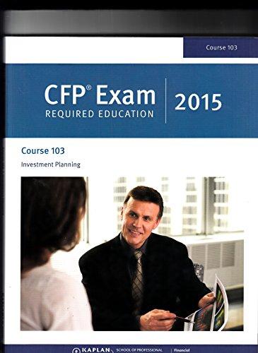 Cfp exam requirements