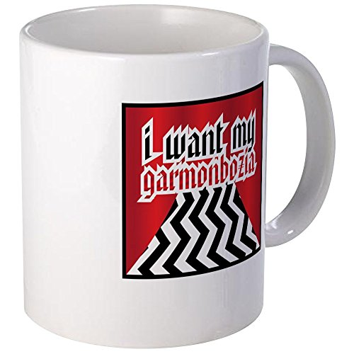 CafePress - Twin Peaks Garmonbozia Mug - Unique Coffee Mug, Coffee Cup