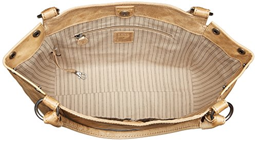 FRYE Melissa Leather Shoulder Handbag Sand rrAUwpqx
