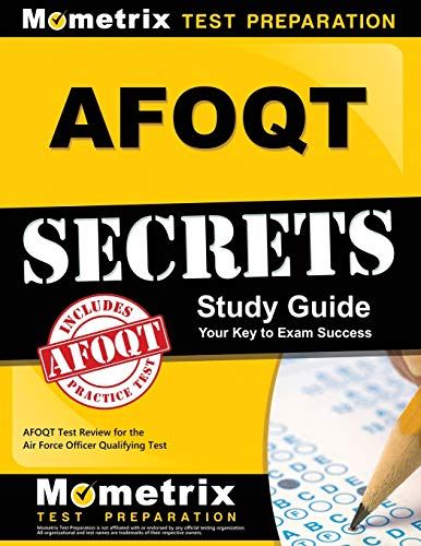 Pdf Law AFOQT Secrets Study Guide: AFOQT Test Review for the Air Force Officer Qualifying Test