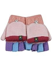 Kids Gloves Fingerless Gloves Ski Mittens Insulated Texting Gloves Mitten Cover
