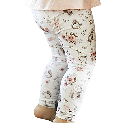 sharemen-baby-boys-girls-leggings-clothes-floral-print-pants-0-6-months-white