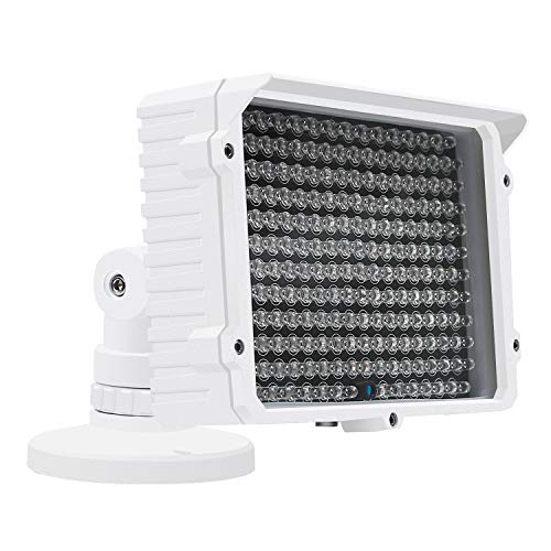CMVision IR130-830NM - 198 LED Indoor/Outdoor Long Range 150 feet IR Illuminator with Free 3A 12VDC Power Adaptor (Special for photobiomodulation, Light Therapy Application) by CMVision (Image #7)