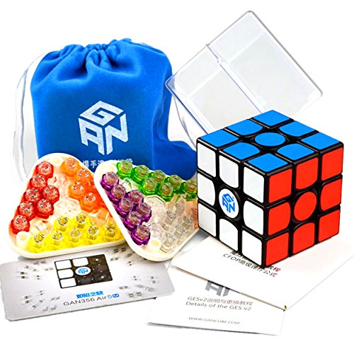 CuberSpeed Gans 356 Air S Magnetic 3x3 Black Magic cube GAN 356 Air SM 3x3x3 Speed cube gan 356air S M
