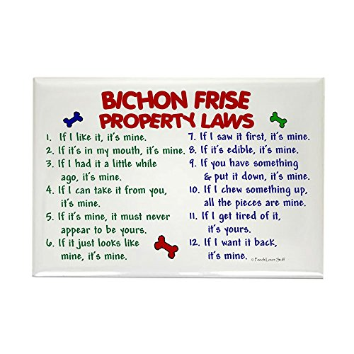 CafePress Bichon Property Rectangle Refrigerator
