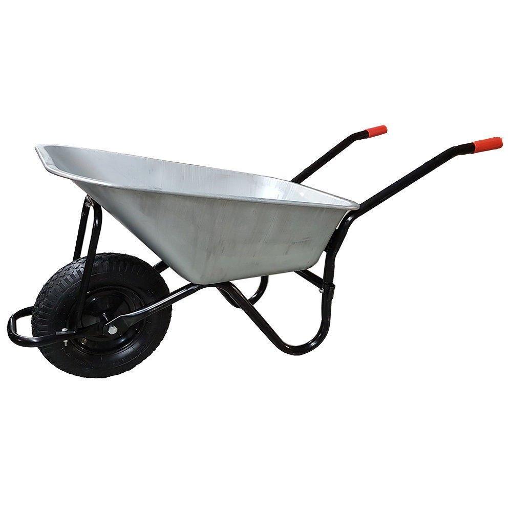 Metal wheelbarrow cordless vacuum suction power