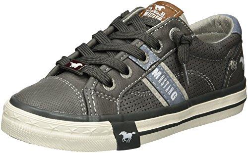 Grau Mixte 2 5024 Basses Sneakers 302 Gris Enfant Mustang 2 TqXwxEzdq