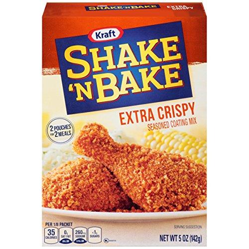 Shake N Bake Extra Crispy Coating Mix, 5 Ounce - 8 per case.