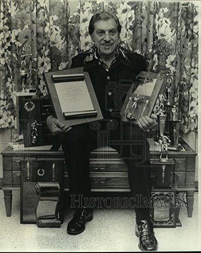 Duke Boxer (1976 Press Photo Boxer Herman