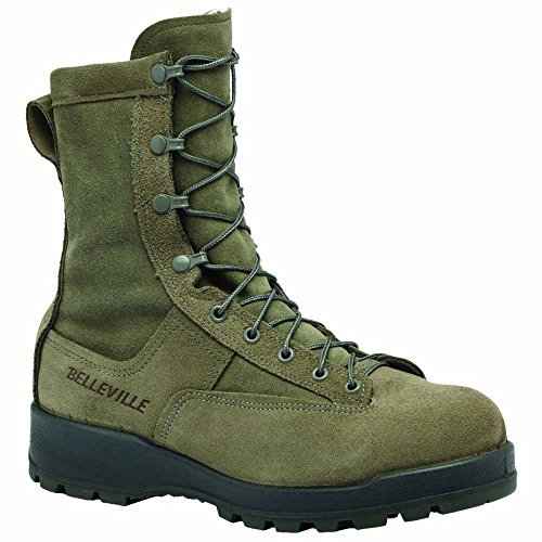 Belleville Cold Weather 600g Insulated Safety Toe Boots - USAF, 675ST Olivgrün