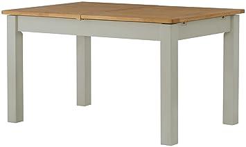 Tacoma Meuble de Salon de Peinture Gris Extended Table de ...