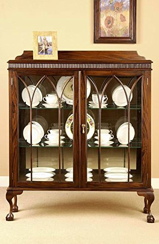 Laurel Crown Small Chippendale China - Curio Chippendale