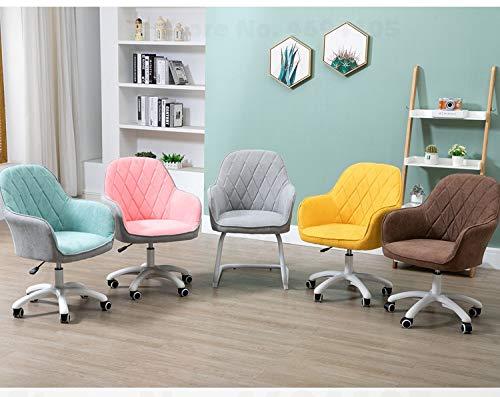JINGXIANG Hushåll lyft roterande student sovsal litet utrymme datorstol arbetsrum soffa stol arbetsrum nät röd stol skriva stol hem & trädgård (färg: Modell 8) Modell 3