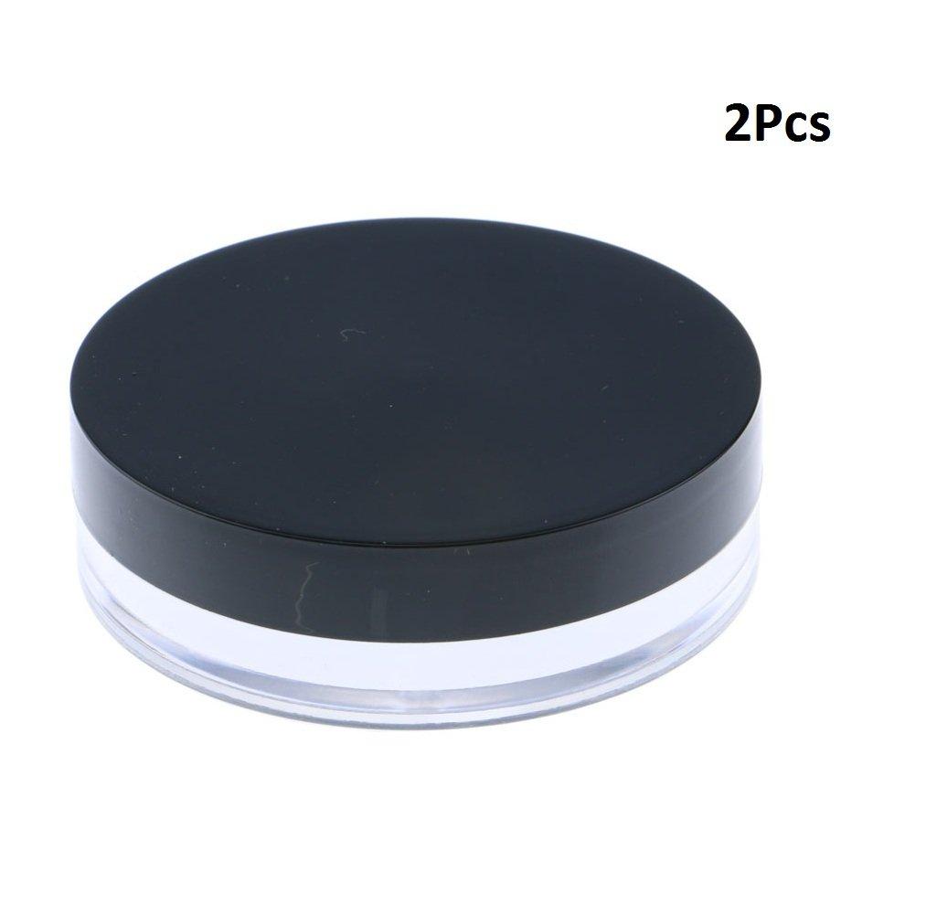 Topwon Portable Loose Powder Container/Travel Powder Kit/Powder Case (D)