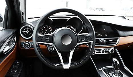 Lenkrad Dekorationsstreifen Karbonfaser Abs Kunststoff Auto Zubehör Auto