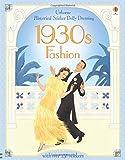 Historical Sticker Dolly Dressing: 1930s Fashion
