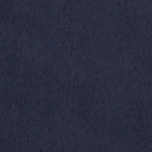 Fabric Merchants Warm Winter Fleece Solid Navy ()