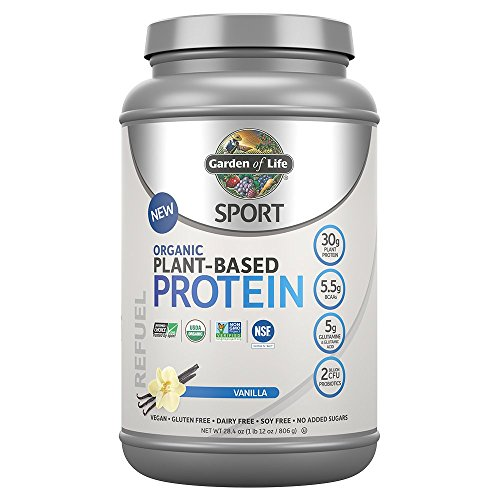 Garden Life Organic Plant Based Protein