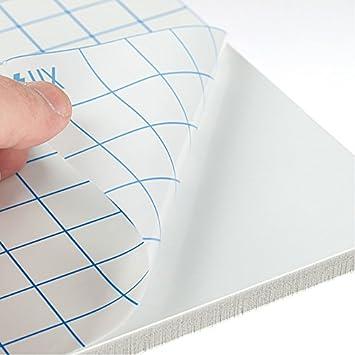 3 mm tablero de la espuma autoadhesiva kapá Fix 1000 x 700 mm 40 hojas espuma tablero centrado: Amazon.es: Oficina y papelería