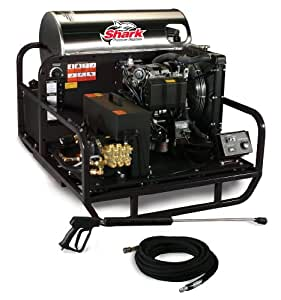 Shark SSD-603567E 3,500 PSI 5.6 GPM Kohler Gas Powered Hot Water Industrial Series Pressure Washer