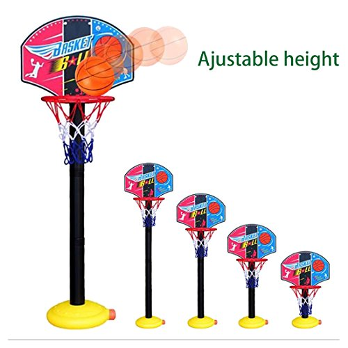 Kids Portable Ajustable Indoor Outdoor Basketball Stand Basketball Hoop for Children