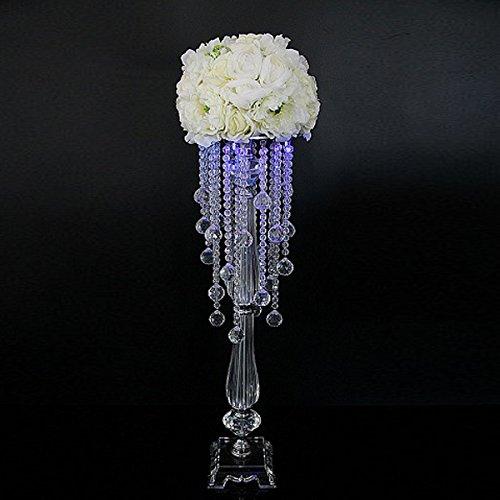 FAYBOX Wedding Centerpieces Flower Stands Acrylic Pendant Table Decor (18