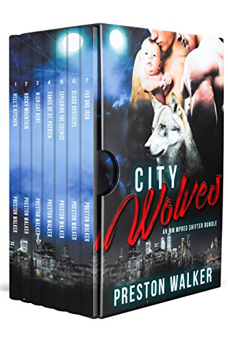City Wolves: An Mpreg Shifter Romance Bundle (Preston's Collection Book 1)
