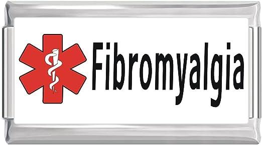 BN NEW Medical Fibromyalgia Italian Charm Photo Superlink